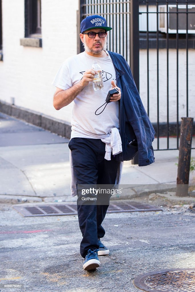 Ricky Powell is seen in Greenwich Village on October 2, 2017 in New York City.