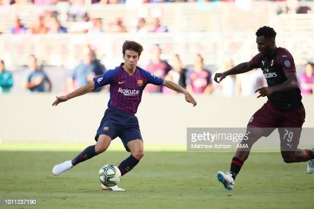 Ricky Puig of FC Barcelona during the International Champions Cup 2018 match between AC Milan and FC Barcelona at Levi's Stadium on August 4 2018 in...