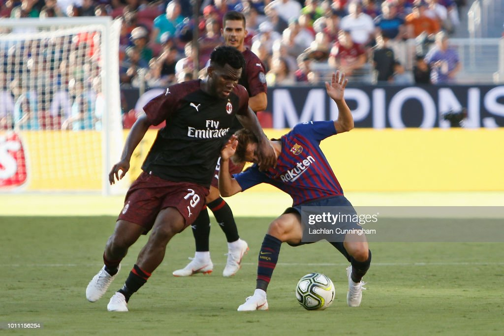 AC Milan v FC Barcelona - International Champions Cup 2018 : ニュース写真