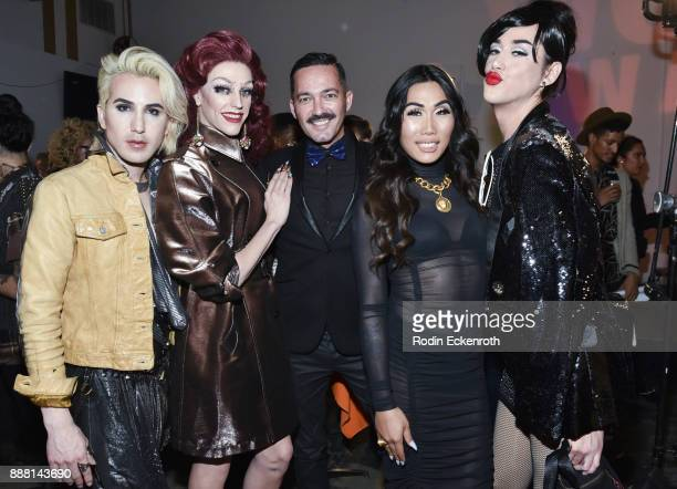 Ricky Rebel Laganja Estranja Gia Gunn and Adore Delano attend the 13th Annual WOWie Awards presented by World of Wonder Productions at The WOW...