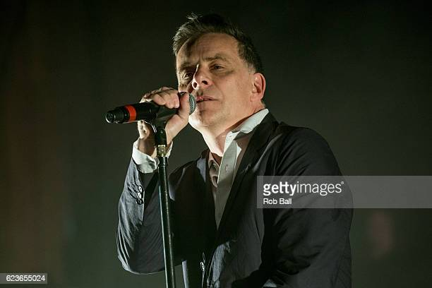 Ricky Ross from Deacon Blue perform at the Royal Festival Hall on November 16 2016 in London England