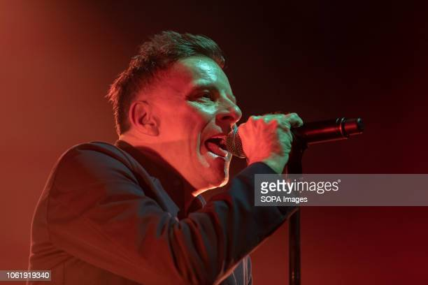Ricky Ross from Scottish pop rock band Deacon Blue performs in Dublin's Olympia Theater
