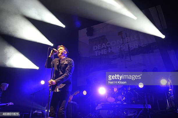 Ricky Ross of Deacon Blue performs at Sheffield City Hall on December 5 2013 in Sheffield England
