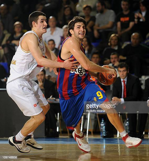 8bb540aaaca Ricky Rubio  9 of Regal FC Barcelona in action during the 20102011 Turkish  Airlines Euroleague