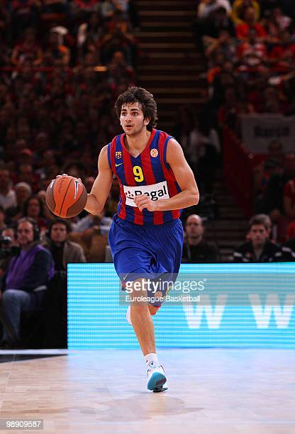 a6bb8677c42 Ricky Rubio  9 of Regal FC Barcelona in action during the Euroleague  Basketball Semi Final