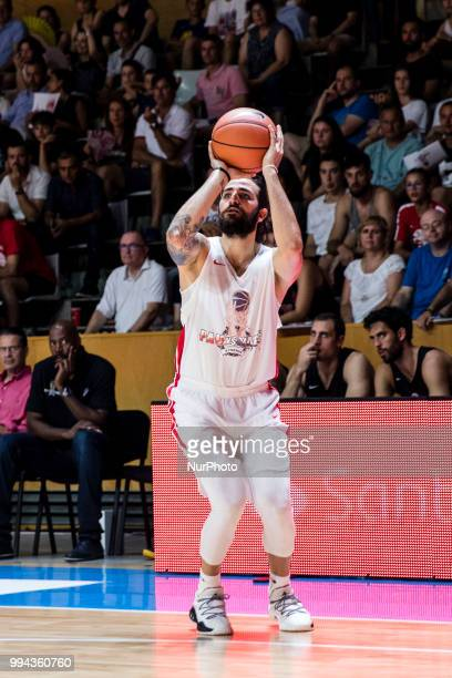 Ricky Rubio from Spain of Utah Jazz during the charity and friendly match Pau Gasol vs Marc Gasol with European and American NBA players to help...