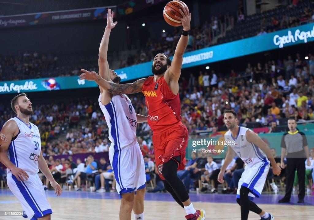 BASKETBALL-EURO-2017-CZE-ESP : News Photo
