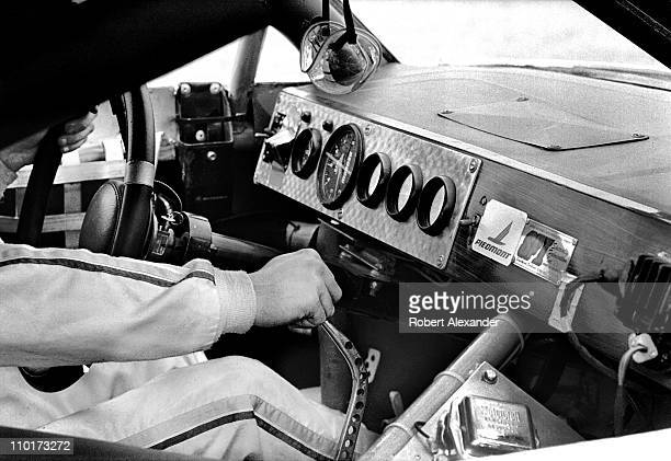Ricky Rudd prepares for the start of the 1983 Daytona 500 on February 20 1983 at the Daytona International Speedway in Daytona Beach Florida