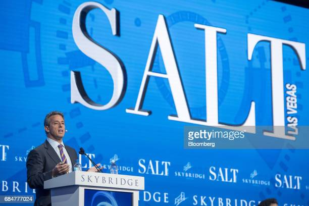 Ricky Sandler founder and chief executive officer of Eminence Capital LP speaks at the Skybridge Alternatives conference in Las Vegas Nevada US on...