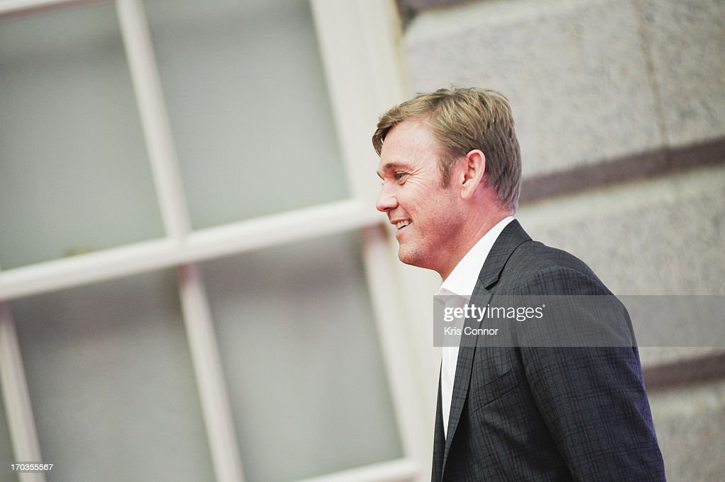 Ricky Schroder poses for a photo during a NCTA reception hosted by A+E Networks at Smithsonian American Art Museum & National Portrait Gallery on June 11, 2013 in Washington, DC.