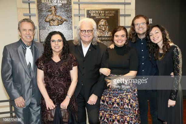 Ricky Skaggs and family members attend the 2018 Country Music Hall of Fame and Museum Medallion Ceremony honoring inductees Johnny Gimble Ricky...