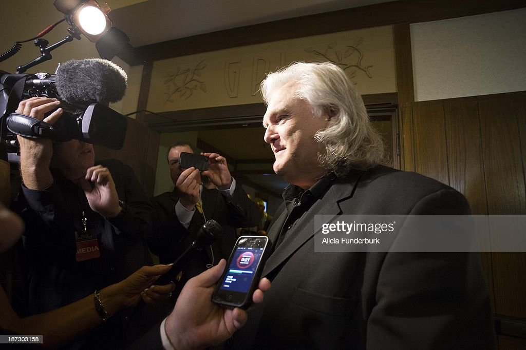 Ricky Skaggs attends the Billy Graham birthday party on November 7, 2013 in Asheville, United States.