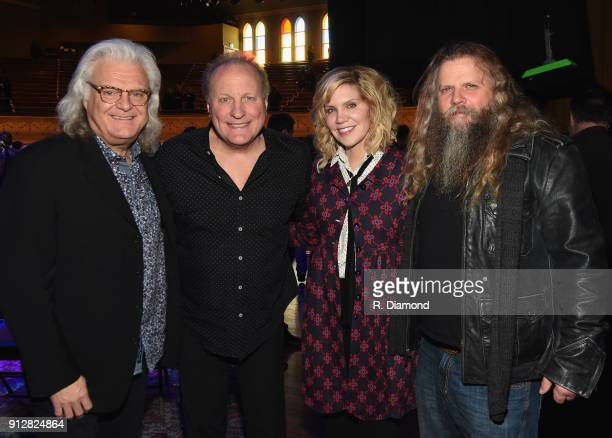 Ricky Skaggs Collin Raye Alison Krauss and Jamey Johnson attend Singer/Songwriter/Comedian Member of both The Nashville Songwriters Hall of Fame and...