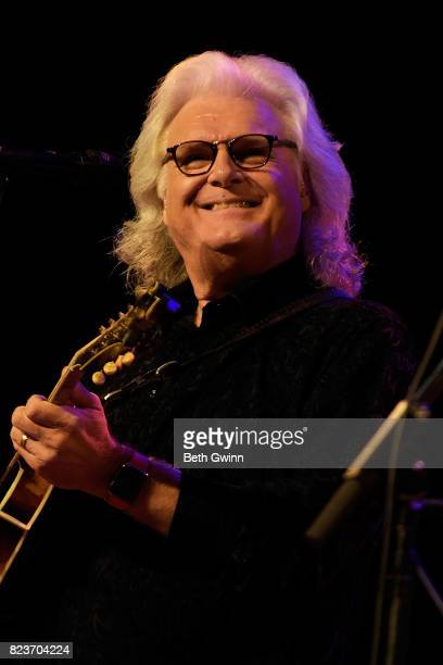 Ricky Skaggs performs at Ryman Auditorium on July 27 2017 in Nashville Tennessee