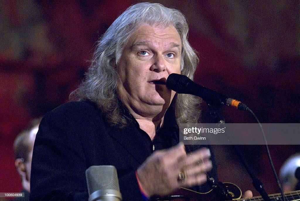 Ricky Skaggs performs during Bluegrass Underground at the Cumberland Caverns on May 22, 2010 in McMinnville, Tennessee.