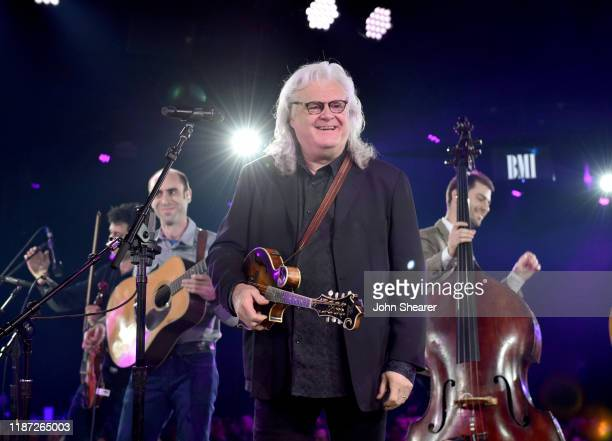 Ricky Skaggs performs onstage as BMI presents Dwight Yoakam with President's Award at 67th Annual Country Awards Dinner at BMI on November 12 2019 in...