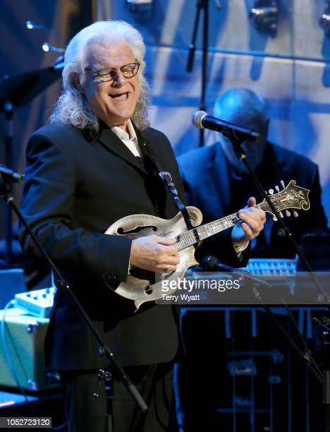 Ricky Skaggs performs onstage during the 2018 Country Music Hall of Fame and Museum Medallion Ceremony honoring inductees Johnny Gimble Ricky Skaggs...