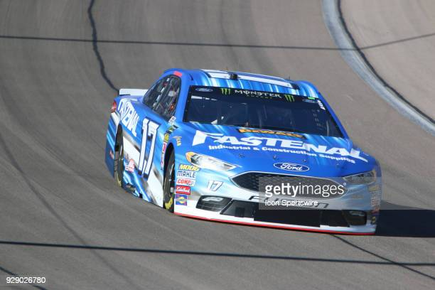 Ricky Stenhouse Jr Roush Fenway Racing Ford Fusion during practice for the Pennzoil 400 Friday March 2 at Las Vegas Motor Speedway in Las Vegas...