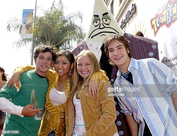 Ricky Ullman Brenda Song Amy Bruckner and Andrew James Allen