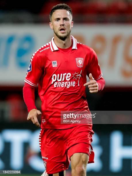 Ricky van Wolfswinkel of FC Twente during the Dutch Eredivisie match between FC Twente and AZ at De Grolsch Veste on September 23, 2021 in Enschede,...