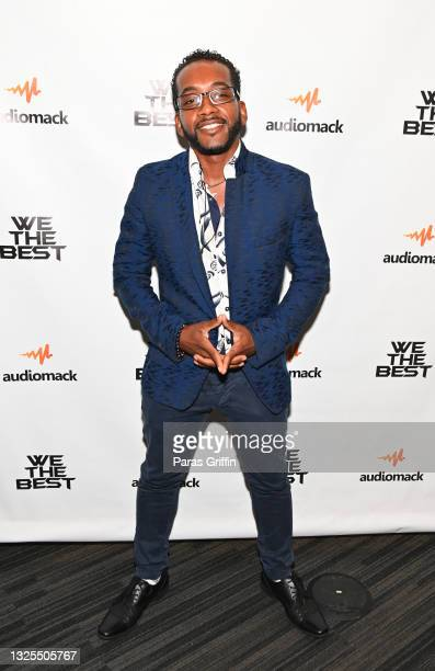 Ricky Virtuoso attends AudioMack Presents Beyond The Beat With DJ Khaled at The GRAMMY Museum on June 25, 2021 in Los Angeles, California.
