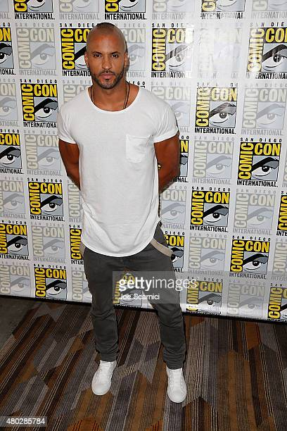 Ricky Whittle attends 'The 100' press room at ComicCon International 2015 Day 2 at the San Diego Convention Center on July 10 2015 in San Diego...