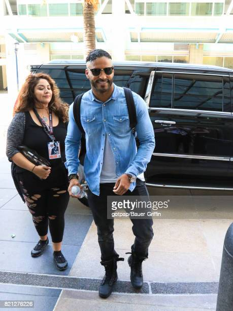 Ricky Whittle is seen on July 22 2017 in San Diego California