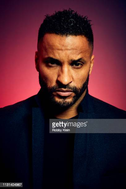 Ricky Whittle of 'American Gods' poses for a portrait at the 2019 SXSW Film Festival Portrait Studio on March 10, 2019 in Austin, Texas.