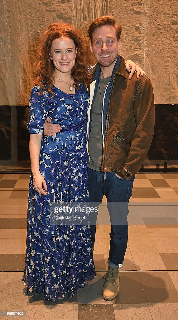 """Ricky Wilson Visits The Cast Of """"Beautiful: The Carole King Musical"""""""