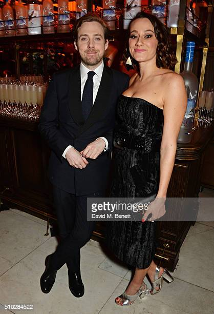 Ricky Wilson and Grace Zito attend The Weinstein Company Entertainment Film Distributors Studiocanal 2016 BAFTA After Party in partnership with...
