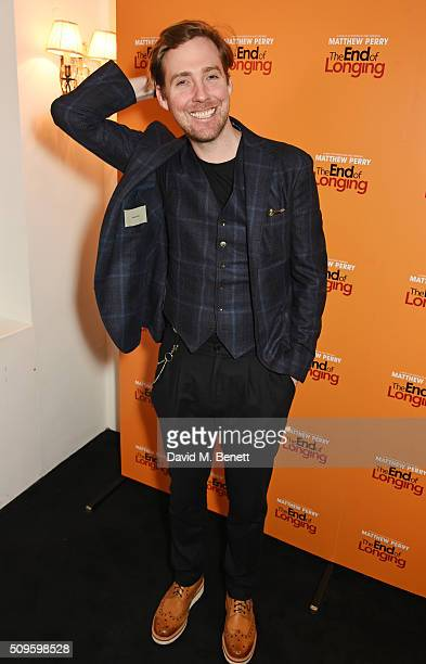 Ricky Wilson attends an after party celebrating the World Premiere of 'The End Of Longing' written by and starring Matthew Perry on February 11 2016...