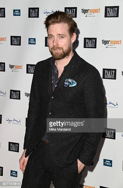 Ricky Wilson attends BBC Two's drama 'Peaky Blinders' UK premiere screening of episode one series three at BFI Southbank on May 3 2016 in London...