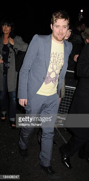 Ricky Wilson attends the Brit Awards 2008 Universal/Island Records After Party at the Hempel Hotel on February 20 2008 in London