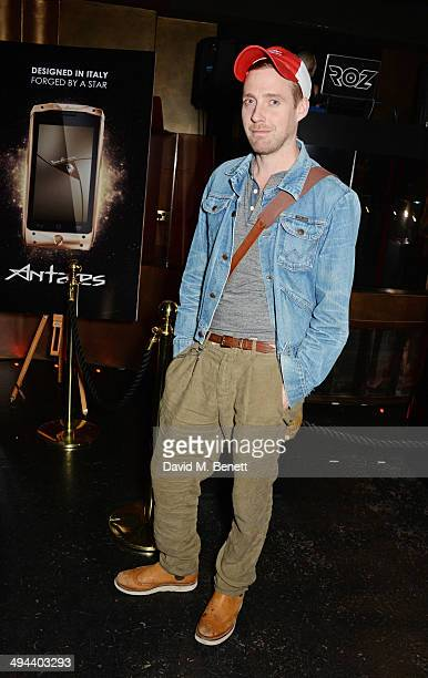 Ricky Wilson attends the launch of the Tonino Lamborghini Antares Smartphone at No 41 Mayfair on May 29 2014 in London England