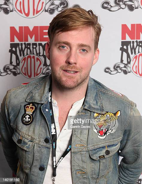 Ricky Wilson attends The NME Awards 2012 at The o2 Academy Brixton on February 29 2012 in London England