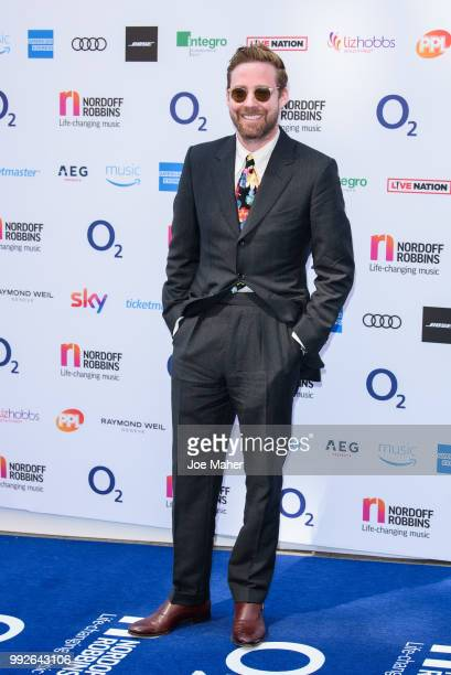 Ricky Wilson attends the Nordoff Robbins O2 Silver Clef Awards 2018 at Grosvenor House on July 6 2018 in London England