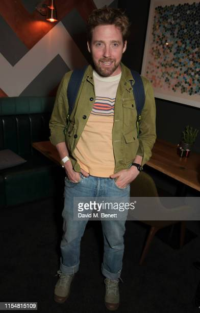 Ricky Wilson attends the press night after party for Jesus Christ Superstar at The Refinery on July 9 2019 in London England
