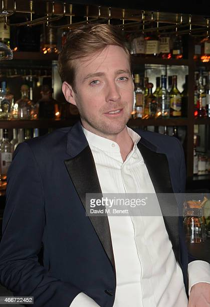 Ricky Wilson attends 'The Voice' secret gig ahead of the live finals at The Scotch on March 18 2015 in London England