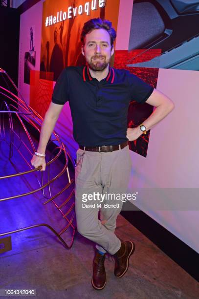 Ricky Wilson attends the World Premiere of the new Range Rover Evoque at The Old Truman Brewery on November 22 2018 in London England