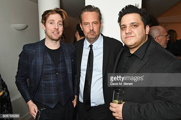 Ricky Wilson Matthew Perry and Nathan Amzi attend an after party celebrating the World Premiere of 'The End Of Longing' written by and starring...