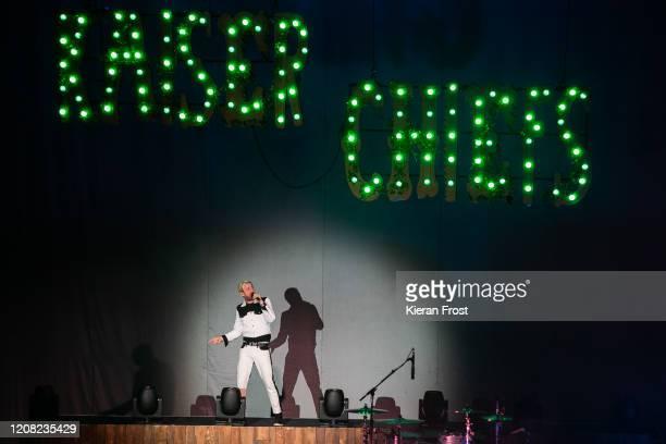 Ricky Wilson of Kaiser Chiefs performs at 3Arena Dublin on February 23 2020 in Dublin Dublin