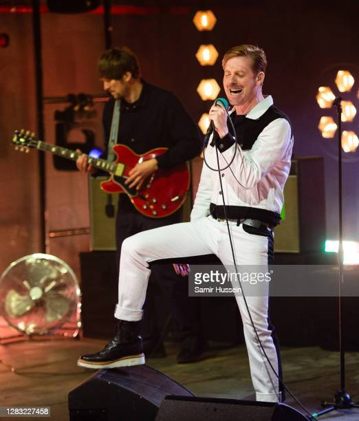 Ricky Wilson of Kaiser Chiefs performs on stage during McDonald's I'm Lovin' It Live at The Printworks on October 30, 2020 in London, England.