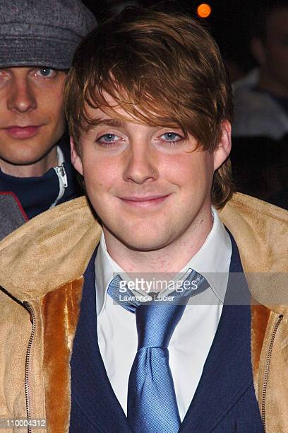 Ricky Wilson of the Kaiser Chiefs of Leeds during Penelope Cruz Appears Outside The Late Show with David Letterman March 30 2005 at Ed Sullivan...