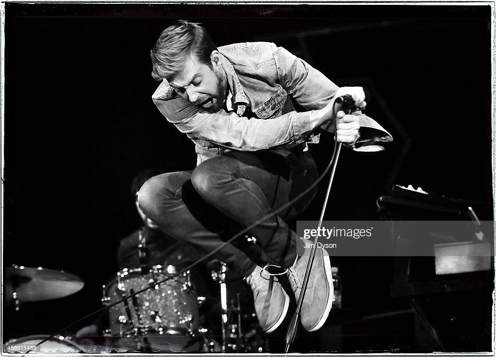 Ricky Wilson of the Kaiser Chiefs performs live on stage at the Invictus Games Closing Concert at Queen Elizabeth Olympic Park on September 14, 2014 in London, United Kingdom.
