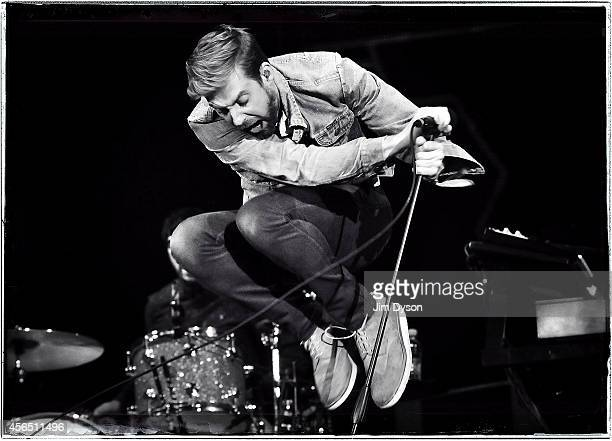 Ricky Wilson of the Kaiser Chiefs performs live on stage at the Invictus Games Closing Concert at Queen Elizabeth Olympic Park on September 14 2014...