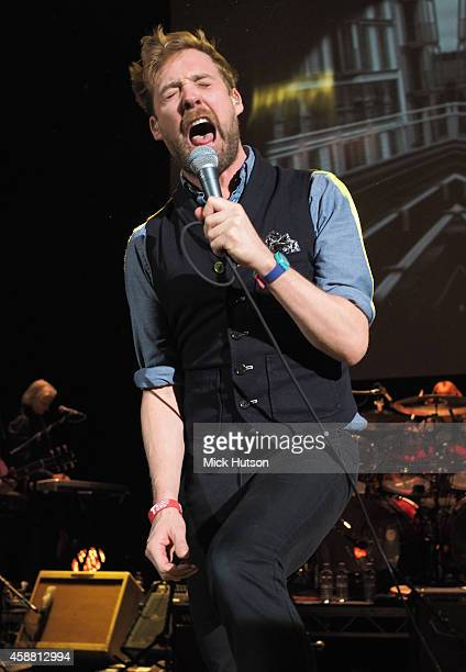 Ricky Wilson performs on stage as part of an evening of The Who music in aid of Teenage Cancer Trust at O2 Shepherd's Bush Empire on November 11 2014...