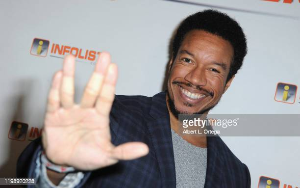 Rico E. Anderson attends INFOlist.com's Pre-OSCAR Soiree and Birthday Party for founder Jeff Gund held at SkyBar at the Mondrian Los Angeles on...