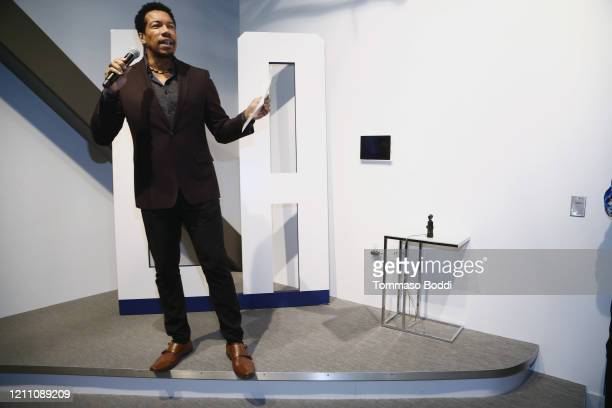 """Rico E. Anderson attends the Cameron Nino """"Out"""" EP Launch on March 07, 2020 in Playa Vista, California."""