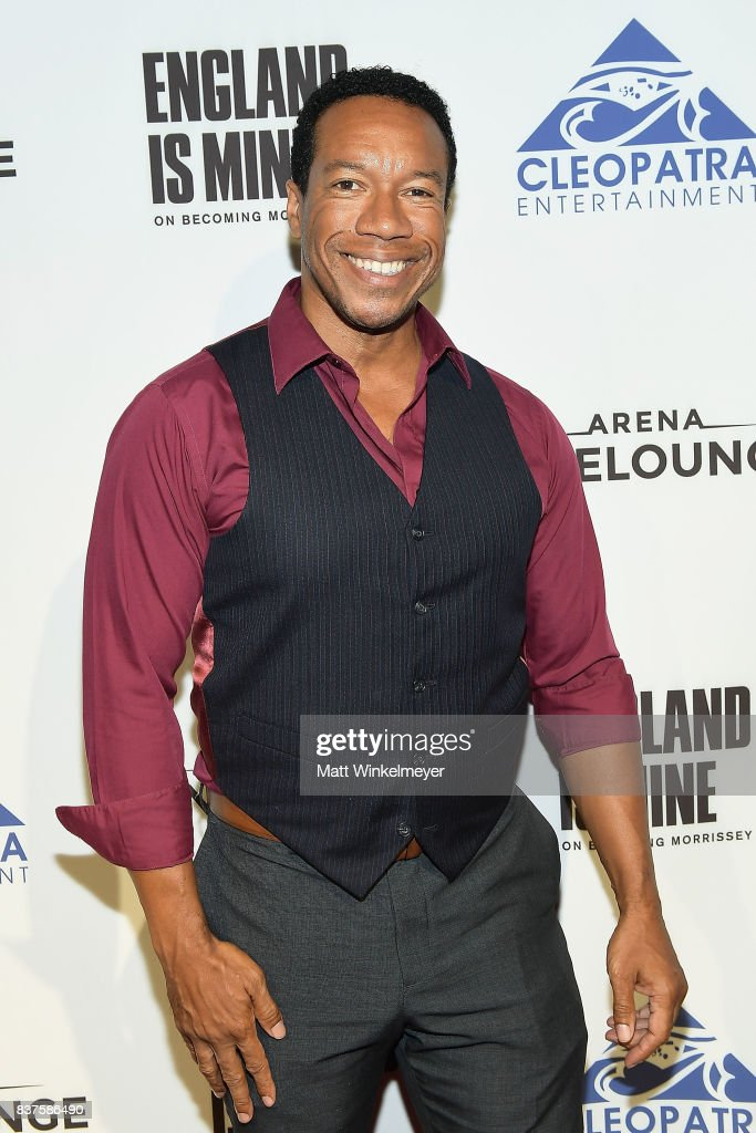 Rico E. Anderson attends the screening of 'England Is Mine' at The Montalban on August 22, 2017 in Hollywood, California.