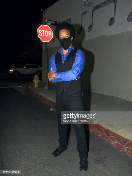 Rico E. Anderson is seen on August 11, 2020 in Los Angeles, California.